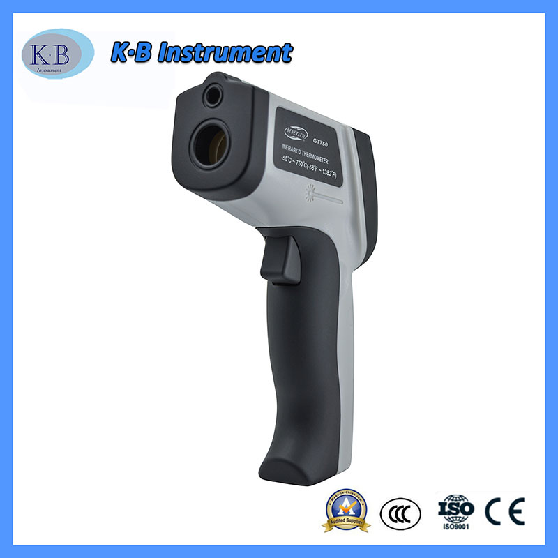 Color Screen GT750 Infrared Thermo Tech Digital Thermometer China Manufacturer Wholesale for Industrial Use