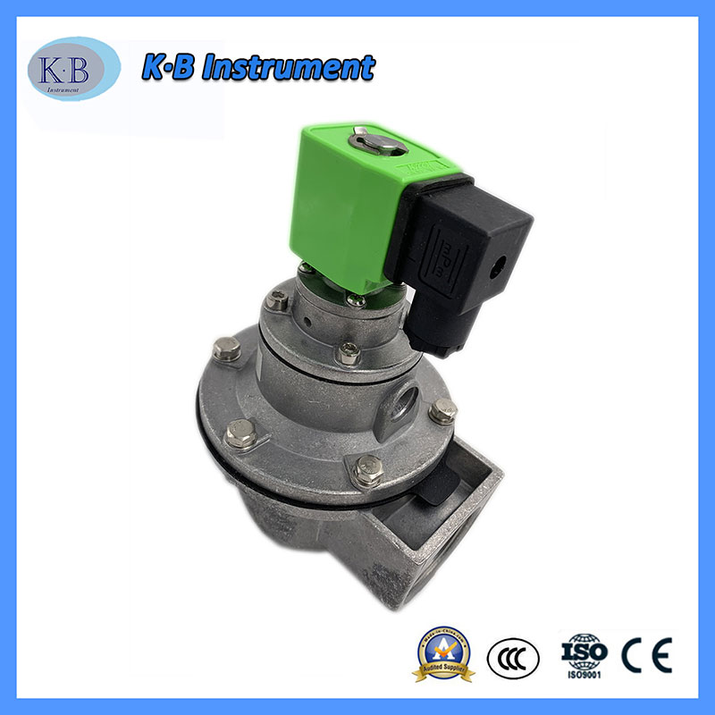 DC24V 110V AC220V Dust Collector Impulse Valve Aluminum DMF-Y-50S Pulse Diaphragm Valve In Dust Collector